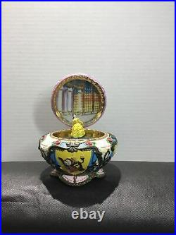 Vintage 1991 Walt Disney Beauty And The Beast Belle Music Box Teapot Rare
