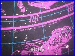 Vintage 1993 Liquid Blue Walt Disney World Hemisphere Zodiac T Shirt Large