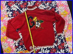 Vintage 90s Pullover Turtle Neck Goofy Sweater Walt Disney Size M/L Iceberg