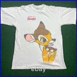 Vintage Bambi T Shirt Movie Promo Single Stitch Tee Walt Disney XL USA 90s