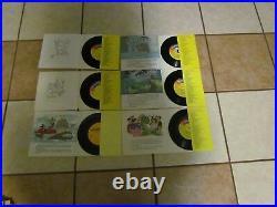 Vintage Dejay Swinger Record Player Sp5 Huge Lot 45 33 1/3 Walt Disney