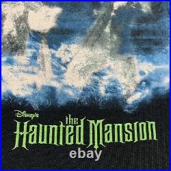Vintage Disney Store Haunted Mansion T Shirt Movie Promo Eddie Murphy Size XL