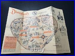 Vintage Disneyland Park Entry Pamphlets 1955-1965 Brochure 10 Total Rare Disney