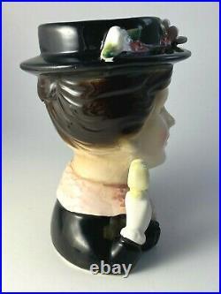 Vintage Enesco Mary Poppins Head Vase Julie Andrews 1964 Walt Disney Productions