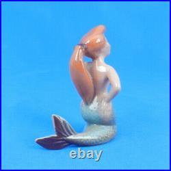 Vintage Hagen Renaker Miniature MERMAID Peter Pan Figurine Walt Disney 1950s WOW