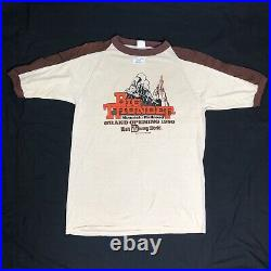 Vintage RARE 1980 Deadstock Walt Disney World Big Thunder Grand Opening T Shirt