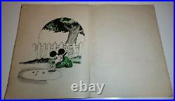 Vintage Rare 1930 MICKEY MOUSE BOOK Walt Disney Game Complete