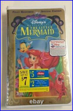 Vintage Rare! Disney's Masterpiece The Little Mermaid! Brand New-factory Sealed