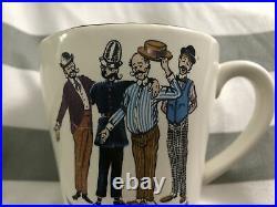 Vintage Rare Disneyland Barber Shop Quartet Shaving Mug, Walt Disney Production