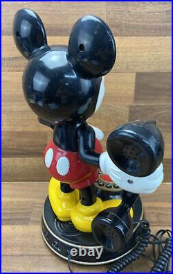 Vintage Rare Mybelle 805 Mickey Mouse Telephone Walt Disney
