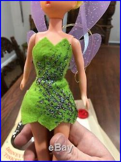 Vintage Tinkerbell Doll Walt Disney Productions 1960s Disneylands With Box