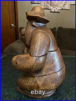 Vintage Walt Disney Country Bear Jamboree Big Al With Guitar Cookie Jar