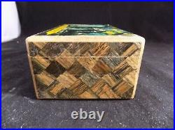 Vintage Walt Disney Haunted Mansion Secret Panel Chest Japanese Puzzle Box RARE