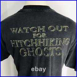 Vintage Walt Disney Haunted Mansion Two Sided Hitch Hiking Ghosts Size XXL 2XL