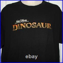 Vintage Walt Disney Pictures Dinosaur Movie Promotional 2000 T Shirt XL