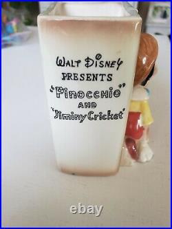 Vintage Walt Disney Pinocchio Planter