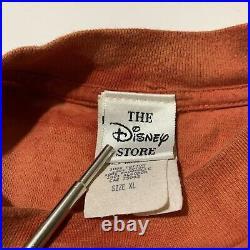 Vintage Walt Disney Pocahontas All Over Movie Promo T-Shirt XL Single Stitch