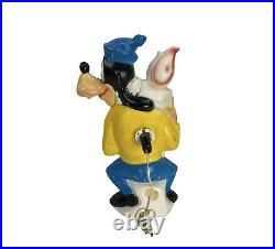 Vintage Walt Disney Productions Goofy Lighted Blow Mold