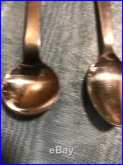 Vintage Walt Disney Stainless By Bonny Mickey & Minnie Spoons And Donald Fork