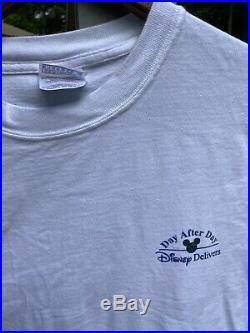 Vintage Walt Disney Toy Story 2 Fantasia DVD Promo T Shirt Mens Size Large