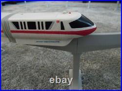Vintage Walt Disney World Complete Monorail Set In Original Box Fully Working