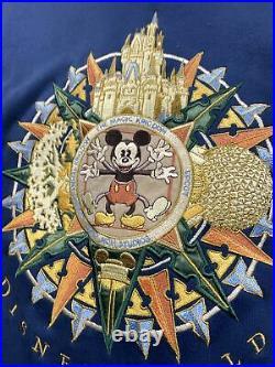Vintage Walt Disney World Tour Four Parks MGM Studios Sweatshirt Mens Sz XL RARE