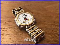 Vintage Watch Gerald Genta Mickey Mouse Quartz The Walt Disney Co