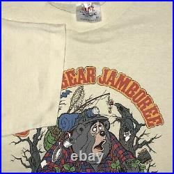 Vtg 70s 80s Original Walt Disney Production Country Bear Jamboree Shirt Medium