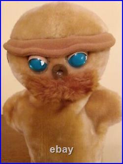 WALT DISNEY TIK-TOK RARE Plush Hand Puppet VTG 1985