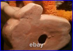 WWII WALT DISNEY vtg hawaiian hula girl brayton laguna california art pottery
