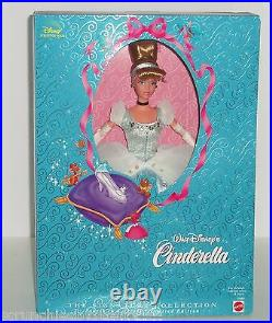 Walt Disney Cinderella Doll Signature Collection Barbie Limited Edition Vintage