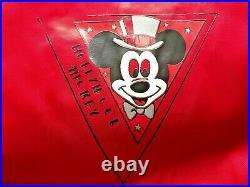 Walt Disney Hollywood Mickey Mouse Vintage Bomber Jacket Size XL