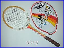 Walt Disney Mickey Mouse Mouse-Ka-Masters Junior Pro Vintage Tennis Racquet