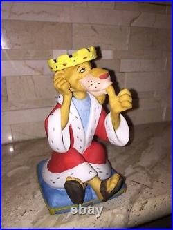 Walt Disney Productions Vintage King Richard Robinhood Figurine Japan
