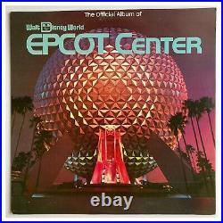 Walt Disney World The Official Album Of EPCOT CENTER Record LP Vinyl Vintage