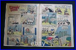 Walt Disney's Donald Duck Vintage 1956 Two Page Printing Plate & Pages