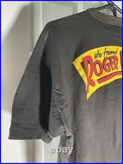 Who Framed Roger Rabbit Vintage Tee Shirt (Walt Disney Production 1987) Clean XL