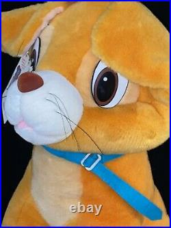 X-RARE Vintage 1988 OLIVER Sears Exclusive 27 Disney OLIVER & COMPANY PLUSH MWT