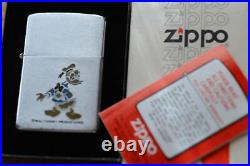 Zippo Walt Disney Donald Duck Slim Lighter 1981's Vintage Collection