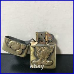 Zippo Walt Disney Mickey Vintage Oil Lighter Super Rare 1993 Antique F/S
